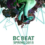 legs poster BC Beat Spring 2015 Letter
