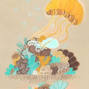 Octopus in Jelly Balloon