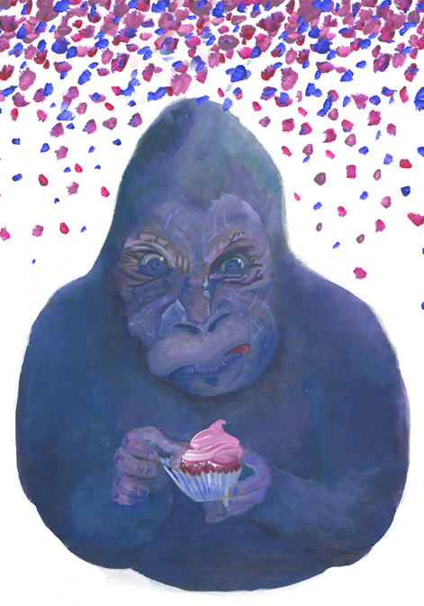 Party Animal Gorilla