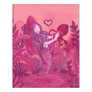 Mermaid & Squid